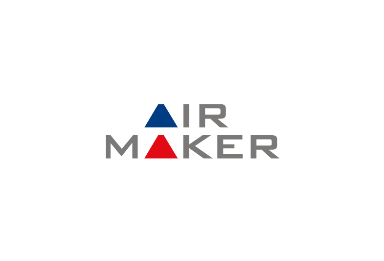 Air Maker Logo Creative Graphic Designcreative Graphic